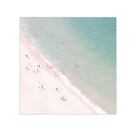 Ingrid Beddoes- 비치써머러브 (Beach summer love) 70x70cm