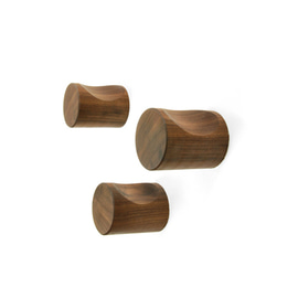 도트훅-월넛 DOT HOOK (3pcs) - Walnut
